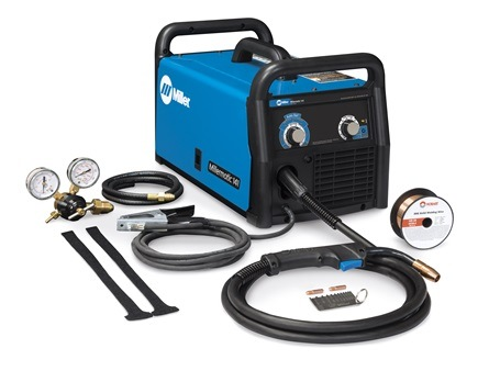 Miller Electric Welder, MIG/Flux Core, 120V set.